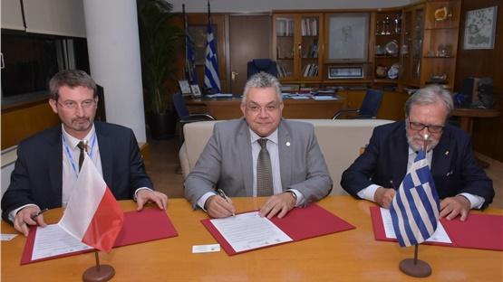 Υπογραφή συμφώνου συνεργασίας για τη διδασκαλία Πολωνικής Γλώσσας...