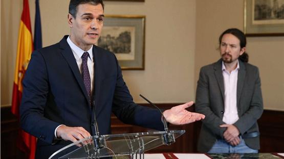 Σοσιαλιστικό Κόμμα και Podemos υπέγραψαν συμφωνία σχηματισμού...