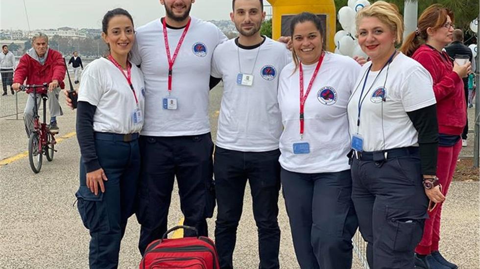 Ευχαριστούμε την Ελληνική Ομάδα Διάσωσης για την υγειονομική...