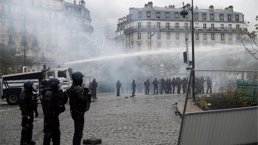 Γαλλία: Περισσότερες από 260 συλλήψεις κατά την χθεσινή διαμαρτυρία των «κίτρινων γιλέκων»