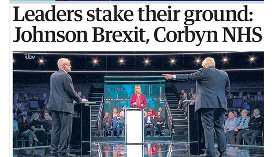 What the papers say about yesterday's election debate between...