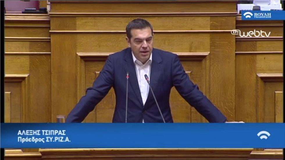 Σύγκρουση Μητσοτάκη - Τσίπρα στην Ώρα του Πρωθυπουργού
