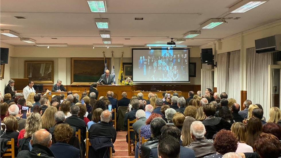 Τιμητική Εκδήλωση της Ευξείνου Λέσχης για τους συντελεστές της...