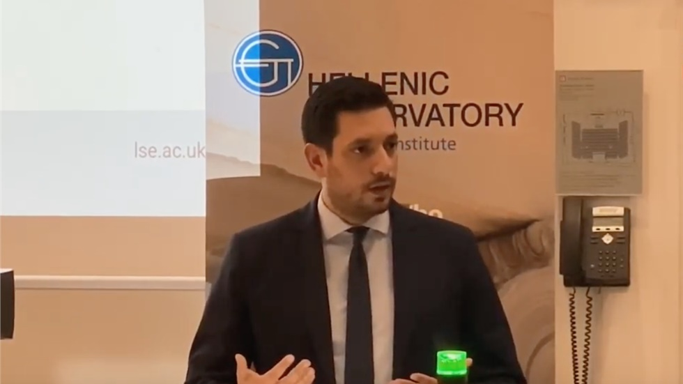Βίντεο: Η ομιλία του Κωνσταντίνου Κυρανάκη στο LSE του Λονδίνου