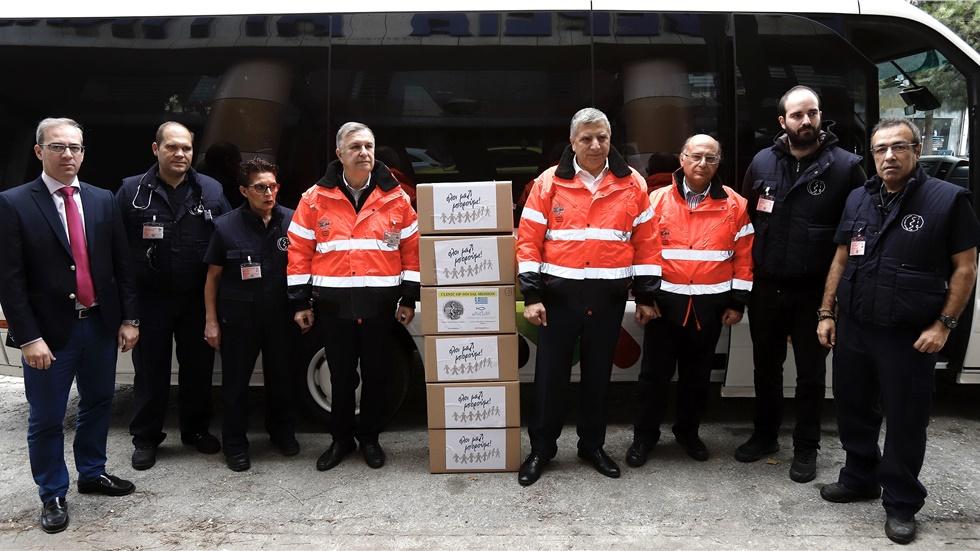 Η Ομάδα Άμεσης Δράσης του ΙΣΑ αναχώρησε για τις πληγείσες από το σεισμό περιοχές της Αλβανίας