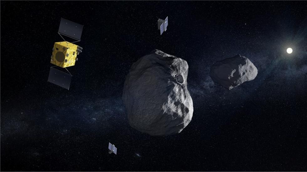 Εγκρίθηκε η διαστημική αποστολή Hera με συμμετοχή του ΑΠΘ