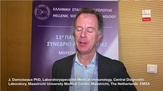 J. Damoiseaux PhD, Laboratoryspecialist Medical Immunology, Central...