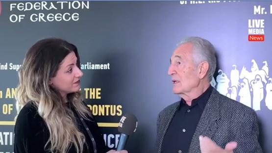 Ο Γιώργος Κοτανίδης στο Διεθνές Συνέδριο για το Έγκλημα της Γενοκτονίας