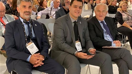 Παρόντες δυναμικά στο Συνέδριο (Από αριστερά προς τα δεξιά)-...