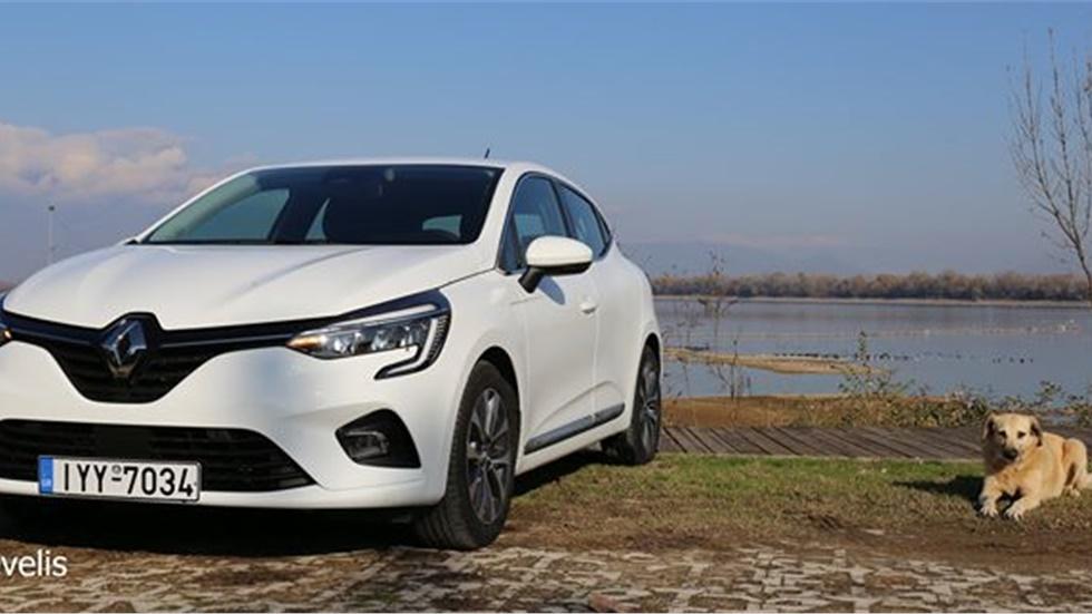 Στην  Λίμνη Κερκίνη, με το νέο Renault Clio 1.0TCe 100ps  Εκεί...