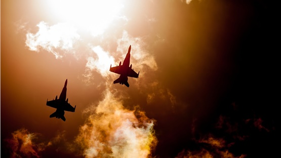 Πτήση τουρκικών αεροσκαφών πάνω από τη Ρω
