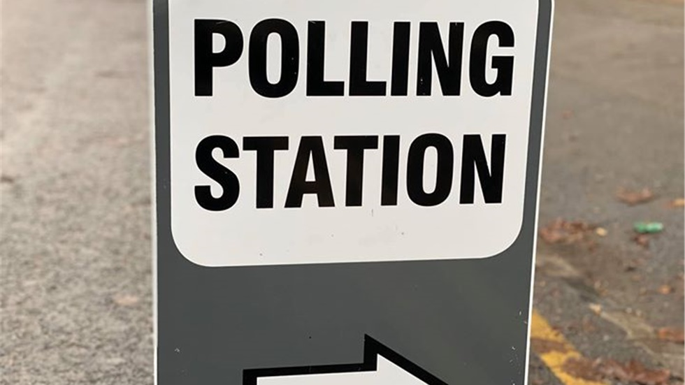 Election Day! Polling stations opened at 7am and are set to close...