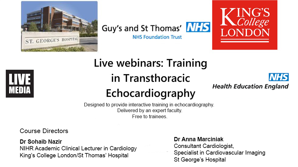 Courses | Training in Transthoracic Echocardiography
