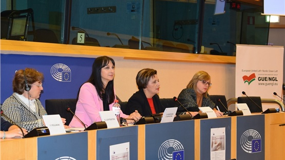 Εκδήλωση της Έλενας Κουντουρά στο Ευρωπαϊκό Κοινοβούλιο για την...
