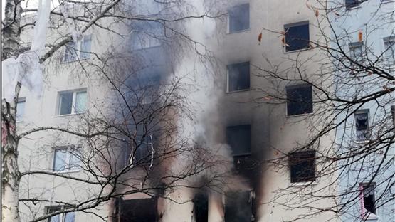 Ένας νεκρός και δεκάδες τραυματίες μετά από έκρηξη σε συγκρότημα...
