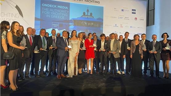 Οι πρωταγωνιστές του θαλάσσιου τουρισμού στο Yachting Awards...