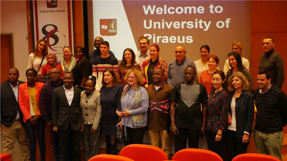 1st African Training Week by the University of Piraeus, the University of Western Attica and the Youthmakers Hub