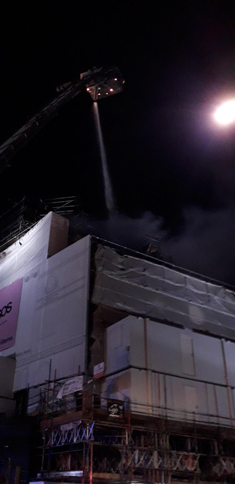 Blaze strikes iconic KOKO nightclub in Camden (London Fire Brigade)