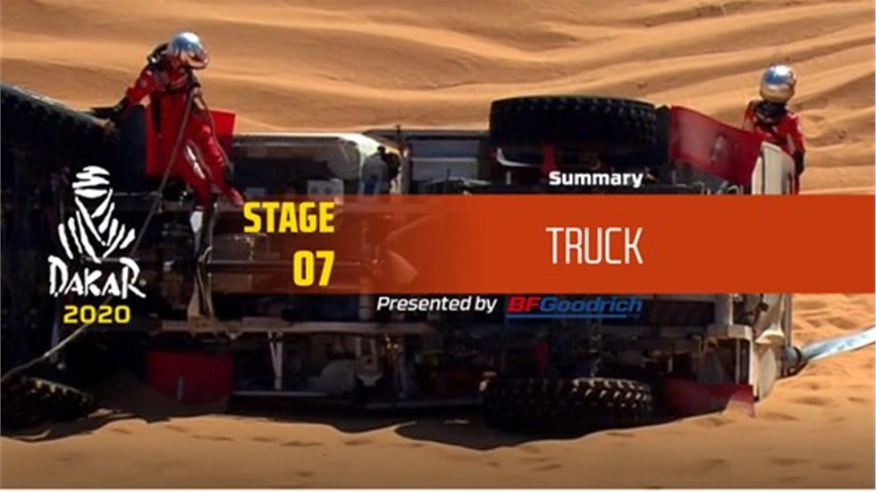 Ο αγώνας των φορτηγών στο φετινό Rally Dakar 2020 είναι το κάτι άλλο