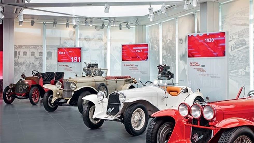 Alfa Romeo Documentation centre Ντοκουμέντα μιας Ιστορίας 60...
