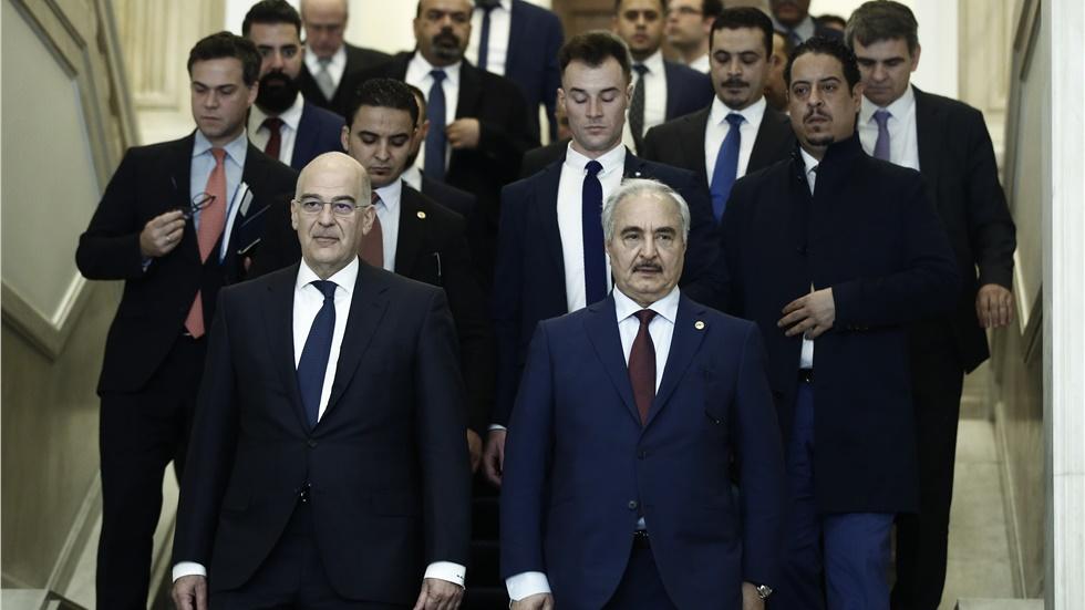 Ν. Δένδιας: Ο Χαφτάρ συμφώνησε με όλες τις παρατηρήσεις της Ελλάδας