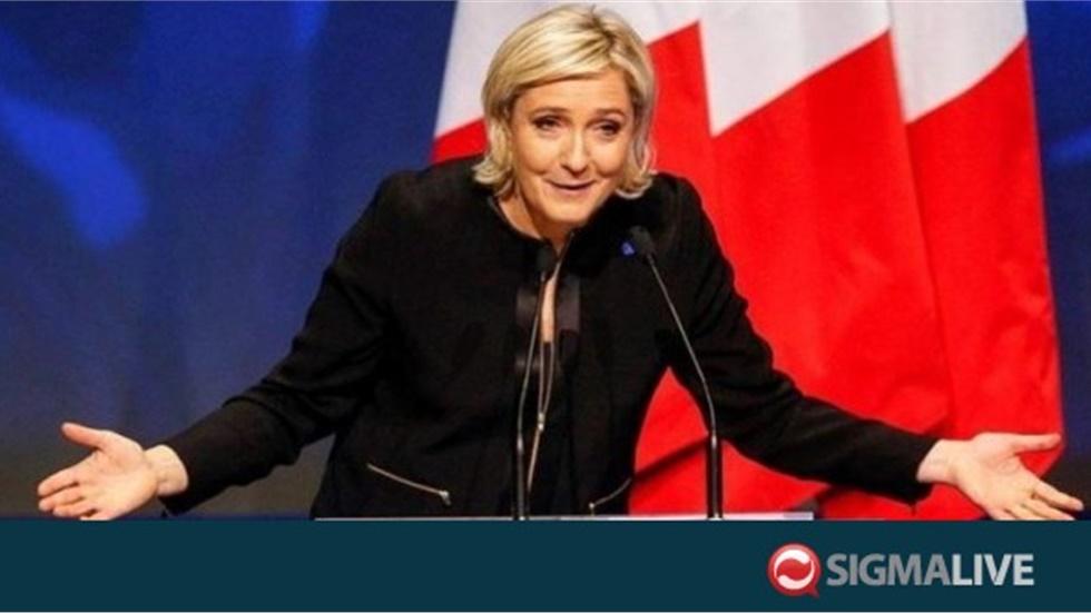 H Μαρίν Λεπέν  υποψήφια στις προεδρικές εκλογές το 2022
