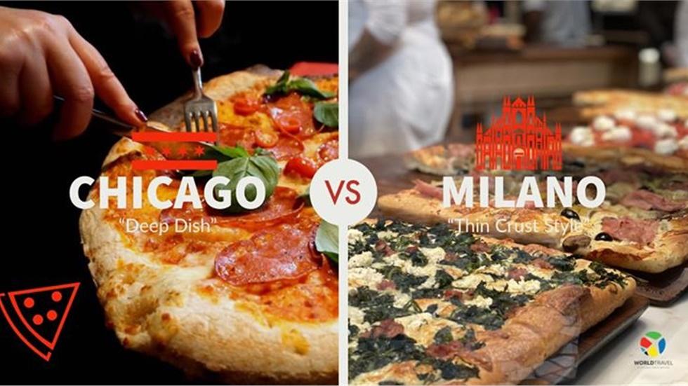 Τι Σικάγο, τι Μιλάνο! Δοκίμασε την αγαπημένη σου πίτσα στην πόλη...