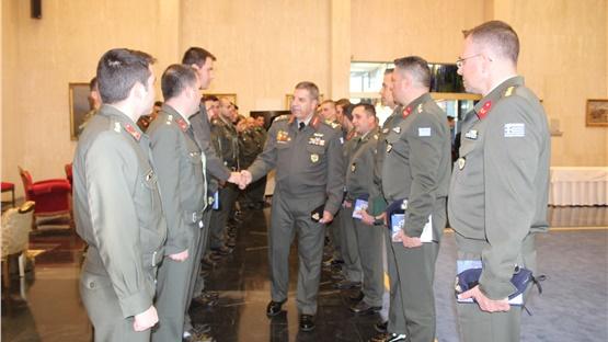 Στη Στρατιωτική Σχολή Ευελπίδων η πρώτη ομιλία του νέου Αρχηγού...