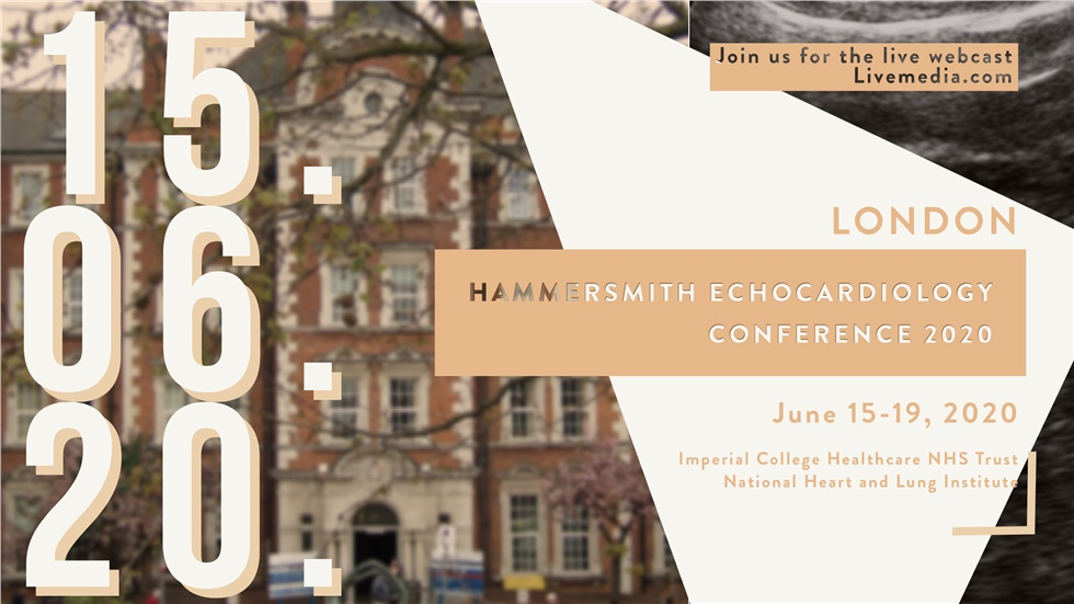 Hammersmith Echocardiology Conference 2020 | London