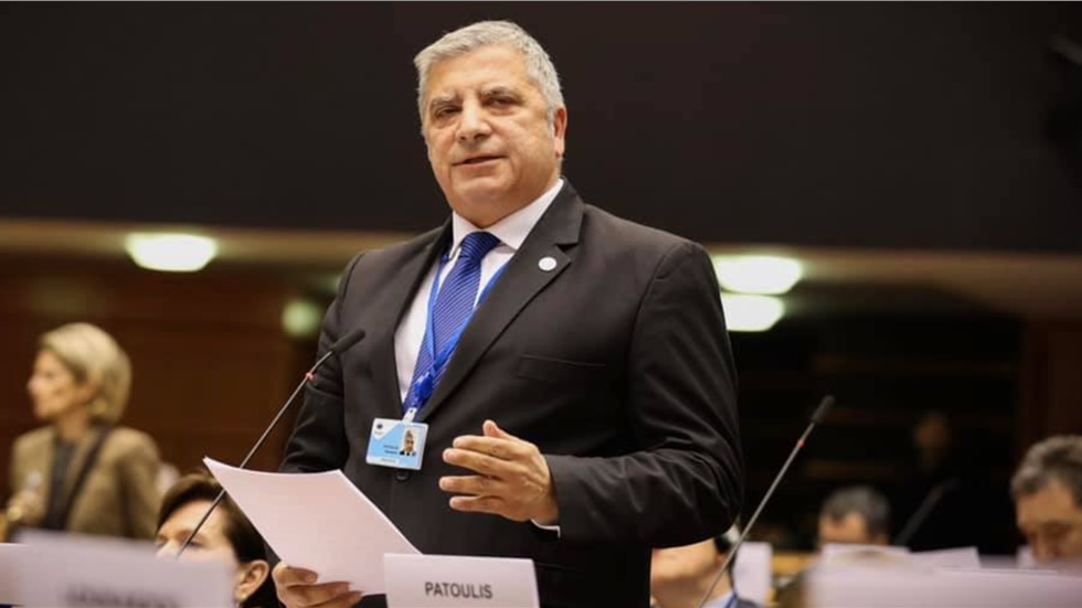 Αντιπρόεδρος της Ευρωπαϊκής Επιτροπής Περιφερειών εξελέγη o Γ. Πατούλης