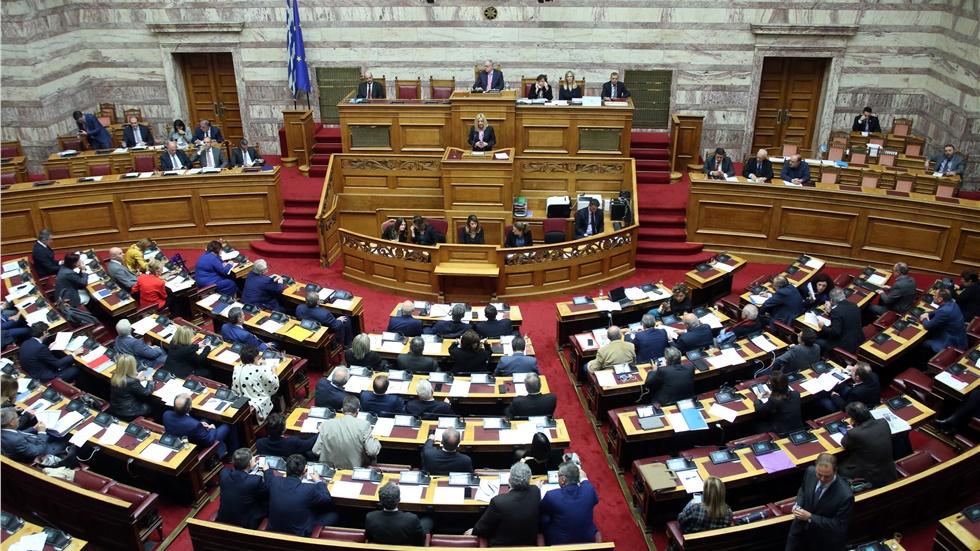 Συζήτηση πολιτικών αρχηγών για τα εργασιακά, αύριο στη Βουλή