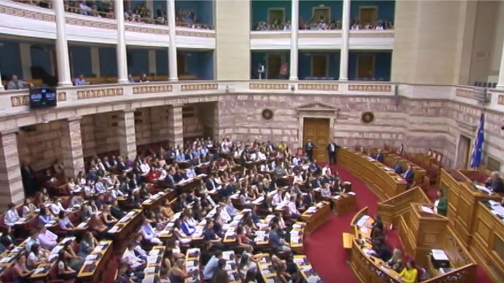 Ζωντανά η συζήτηση στη βουλή για τα εργασιακά