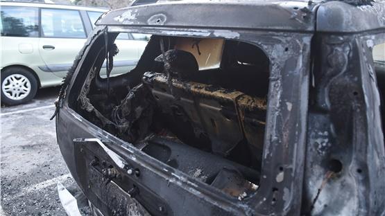 Θεσσαλονίκη: Εμπρησμός αυτοκινήτων του Υπουργείου Πολιτισμού