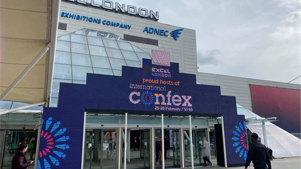 International Confex at Excel Exhibition Centre in London.