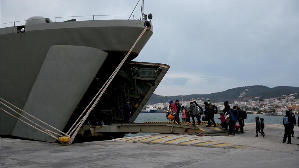 Μυτιλήνη: Ογδόντα πρόσφυγες και μετανάστες, που ταυτοποιήθηκαν,...