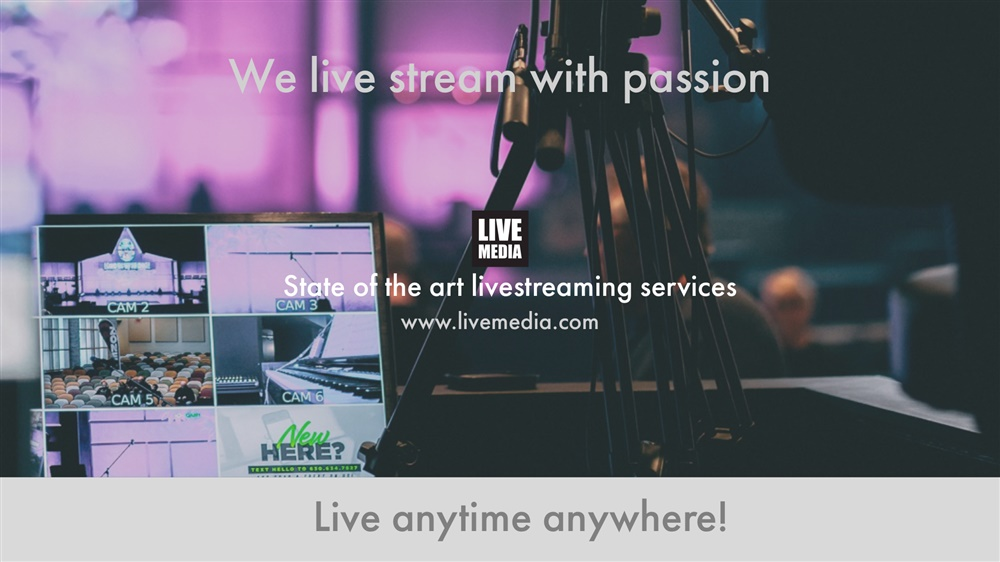 Video Conference & Livestreaming Services by Livemedia