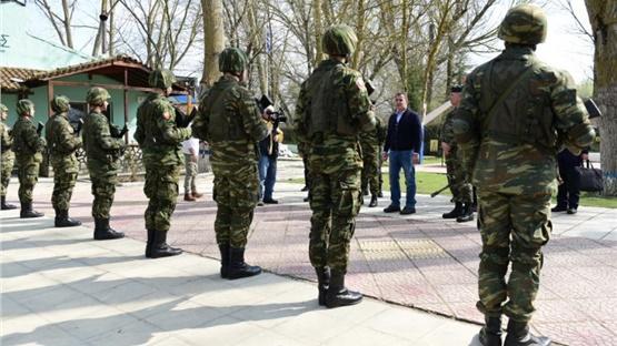 Ν. Παναγιωτόπουλος: Επίσκεψη και επιθεώρηση μέτρων ασφαλείας...