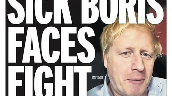 PM Boris Johnson in intensive care - What the papers say