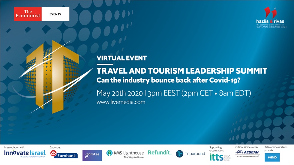 "Congresses | Travel and Tourism Leadership Summit ""Can the industry bounce back after Covid-19?"""