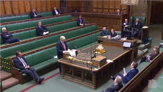 PM Boris Johnson's statement in the House of Commons on coronavirus...