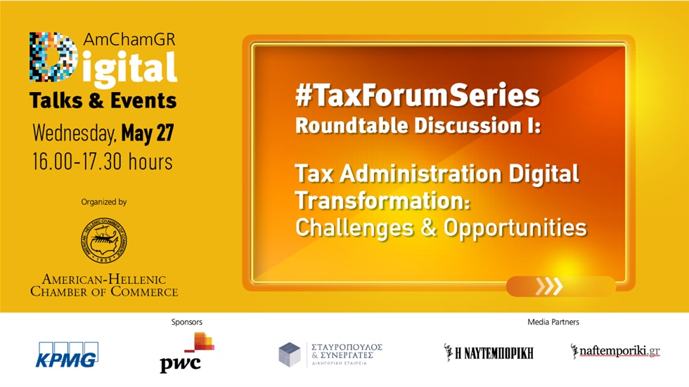 #TaxForumSeries Roundtable Discussion I: Tax Administration Digital...