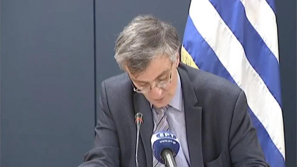 Σ.Τσιόδρας: Δέκα νέα κρούσματα στην Ελλάδα και 173 θάνατοι συνολικά