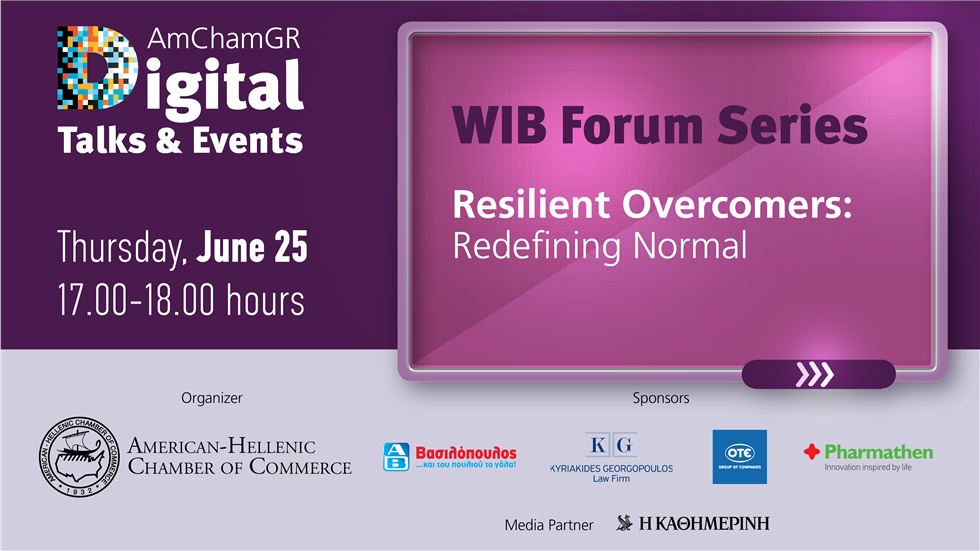 WIB Forum Series| Resilient Overcomers: Redefining Normal