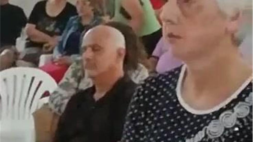 Η ομιλία του Δημάρχου Μαρωνείας – Σαπών Ντίνος Χαριτόπουλος στον...