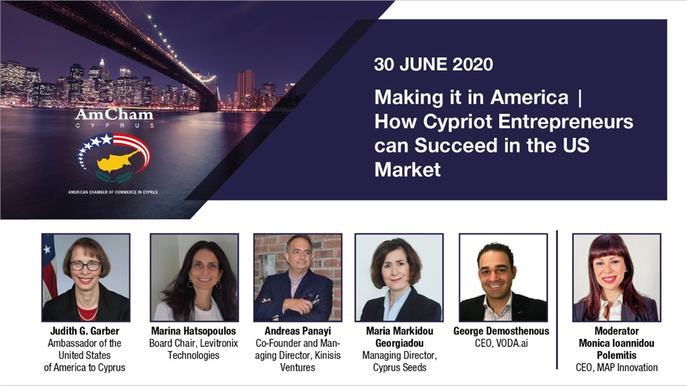 Congresses | Making it in America – how Cypriot entrepreneurs can succeed in the USA market