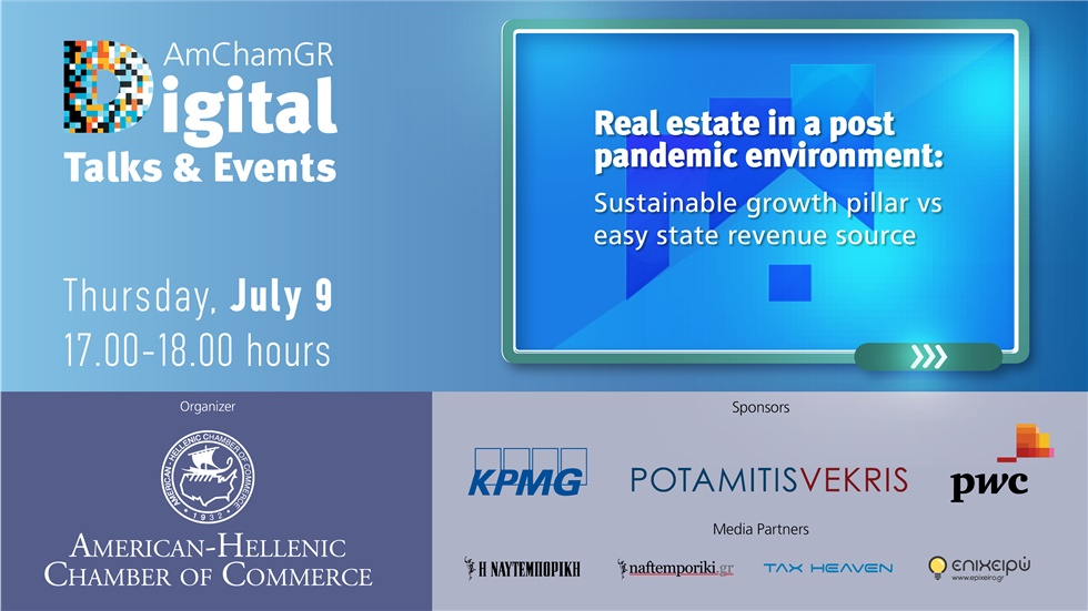 Congresses | Real estate in a post pandemic environment: Sustainable growth pillar vs easy state revenue source