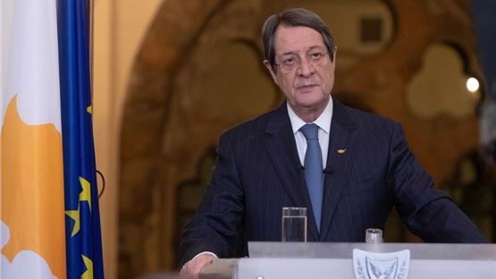 Στην Αθήνα αύριο, Τρίτη, ο πρόεδρος της Κύπρου Ν. Αναστασιάδης