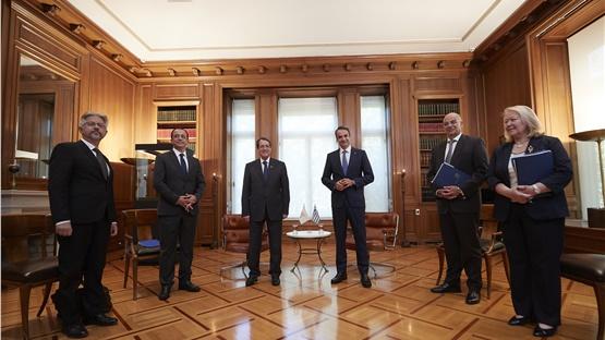Συνάντηση Μητσοτάκη-Αναστασιάδη: Άριστη συνεργασία Ελλαδας και...