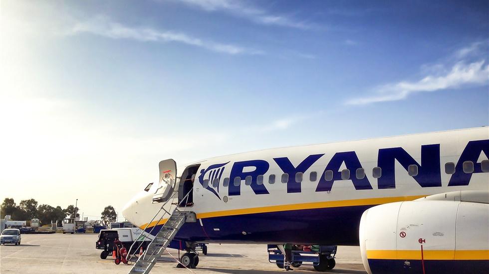 Βρετανία: Δύο άνδρες συνελήφθησαν έπειτα από σημείωμα για βόμβα σε αεροπλάνο της Ryanair