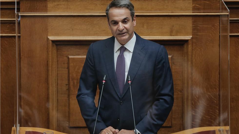 Μητσοτάκης: Η Ελλάδα επεκτείνει την αιγιαλίτιδα ζώνη προς δυσμάς...